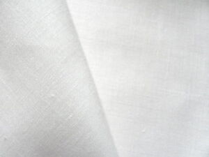 White 55 count very fine Zweigart Kingston Linen 90 x 50 cm  fabric