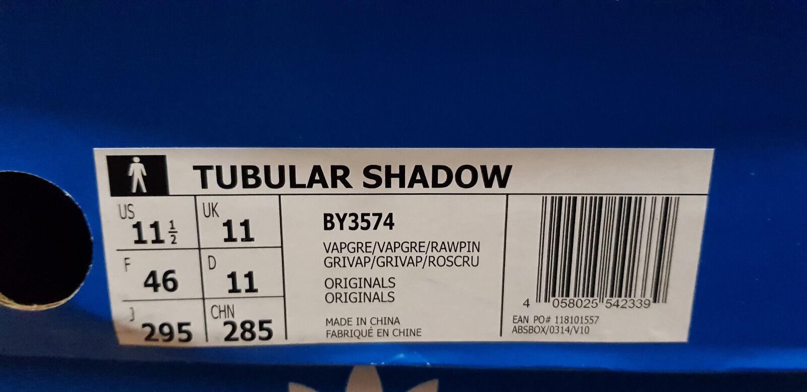 2018 Adidas Originals Originals Originals Shadow ® (Tubular Uomo Taglia UK: 7 - 13) di vapore Grigio Marrone ee6d30