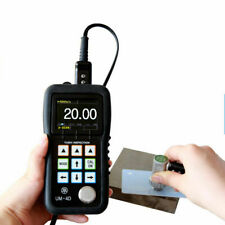 Yushi Um 4d Ultrasonic Thickness Tester Meter 0025 To 20 Thru Paint Coating