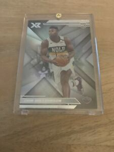 2019-20-Panini-Chronicles-XR-Silver-Zion-Williamson-Rookie-Card-271