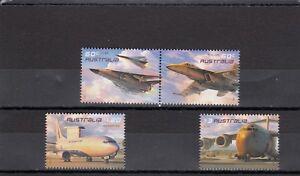 Australie-sg3552-3555 Neuf Sans Charnière 2011 Aircraft Of The Australian Air Force-afficher Le Titre D'origine
