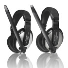USB 3.5mm Bass Stereo Gaming Headset Headband Headphone with Mic for iPhone PC