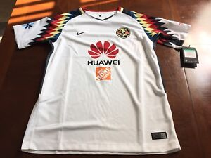 size 40 6763f 6e040 Details about Nike Club America Youth Jersey Size L, XL 847382-101