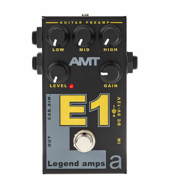 AMT E1 (Engl FireBall) – JFET guitar preamp (1 channel) effect pedal