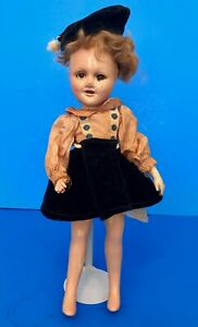 Vintage-1940s-Madame-Alexander-Wendy-Ann-Doll-Sonja-Henie-TAGGED-Skater-Outfit