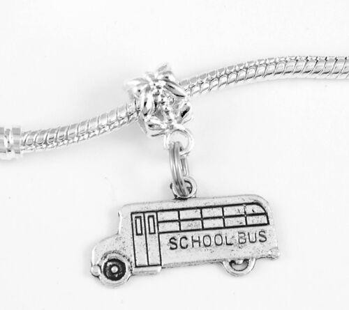 School Bus driver Charm Huge sale school Bus driver pendent driver gift