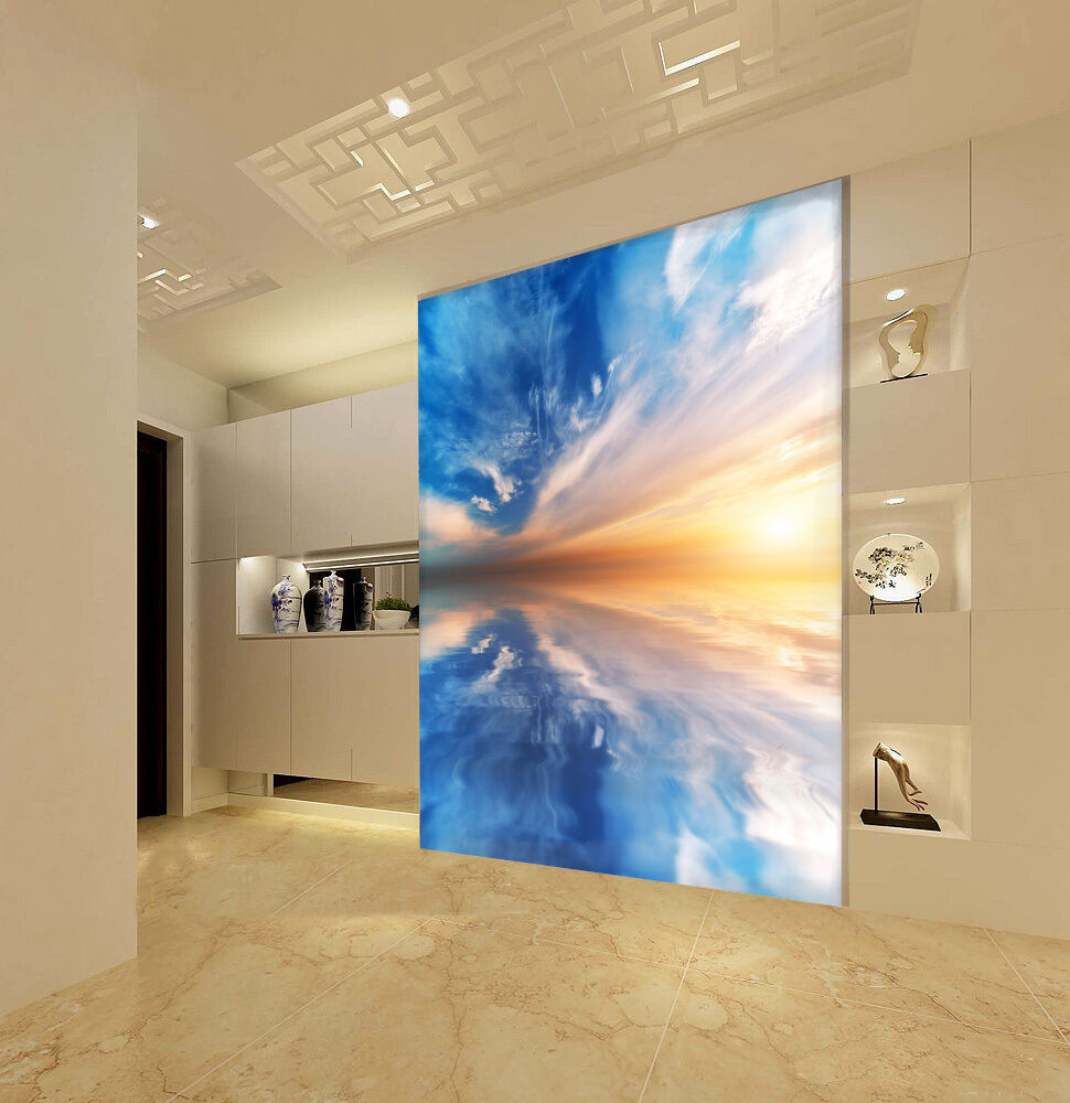 3D Sea Sunset 9050 Wall Paper Wall Print Decal Wall Deco Wall Indoor Murals