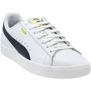 Puma-Clyde-Foil-Sneakers-White-Mens