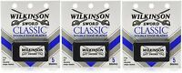 Wilkinson Sword Classic Double Edge Razor Blades (3 Packs Of 5 = 15 Blades)