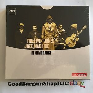 The-Elvin-Jones-Jazz-Machine-Remembrance-CD-2014-New-amp-Sealed