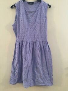 Dorothy-Perkins-purple-skater-dress-size-14