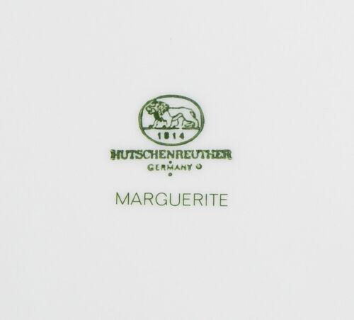 Marguerite SUPERB Set of 2 Salad Plates Germany Hutschenreuther
