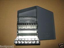 Huot Fractional 116to12x164 Jobbers Length Drill Bit Dispenser Index 10550