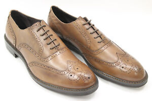 BIAGIOTTI-men-shoes-sz-10-Europe-44-brown-leather-S6745