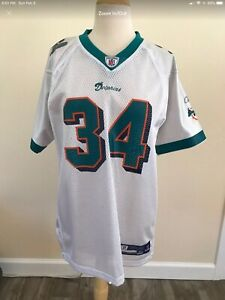 Nice White Ricky Williams Miami Dolphins Jersey XL | eBay  for cheap