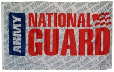 3x5 Army National Guard Letters Flag 3/'x5/' Nylon Poly House Banner Grommets 100D