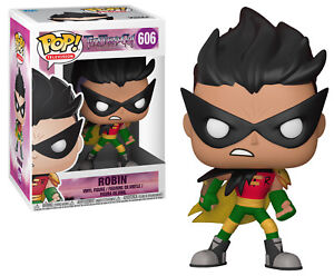 Funko-POP-Television-ROBIN-VINYL-FIGURE-Teen-Titans-GO-TNBTS
