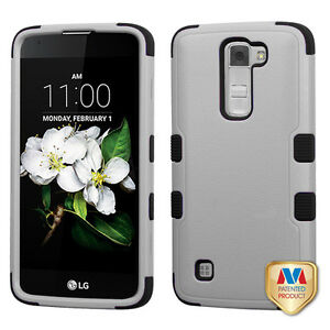 cheap for discount c63ec 11772 Details about Natural Gray Black Phone LG MS330 K7 LG LS675 Tribute 5 LG  L52VL Treasure LTE