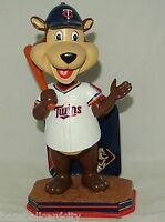 Mlb 2016 Forever Collectibles T.c. Minnesota Twins Mascot Bobblehead 'd/2016
