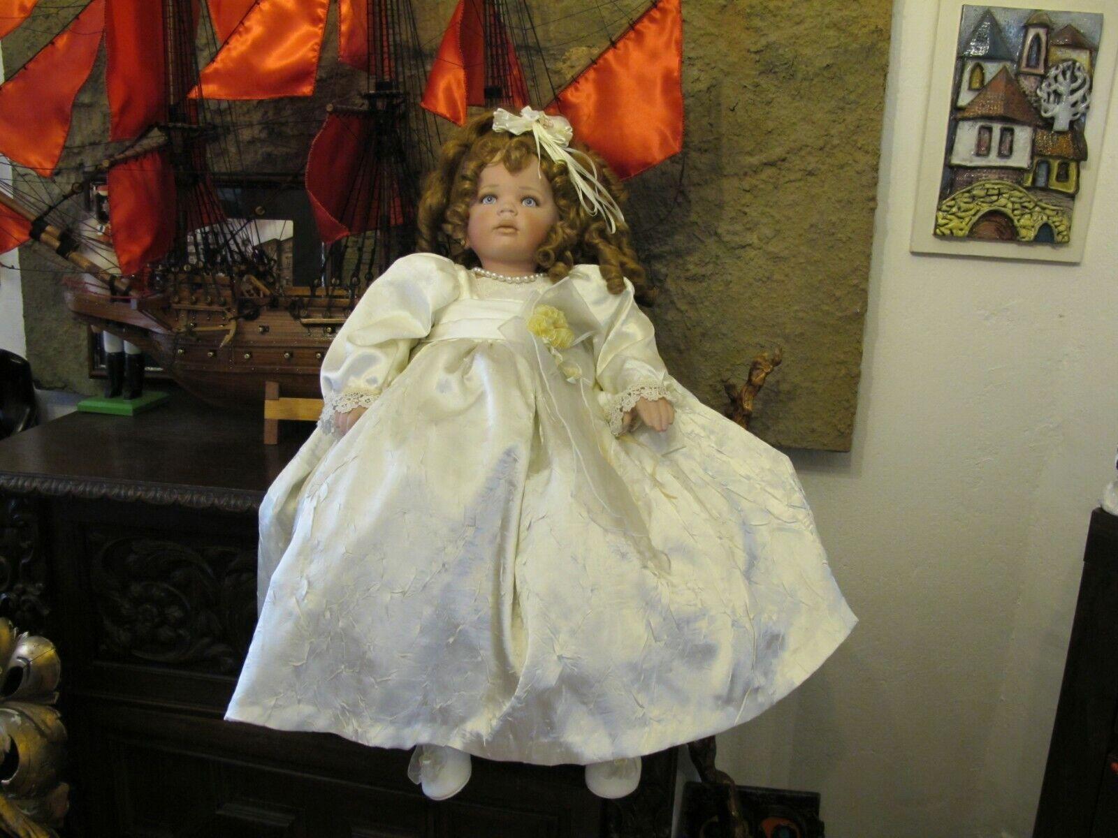 Rustie  Donna Rubert bambola di porcellana 80 CM. OTTIMO stato  risparmia fino al 70% di sconto