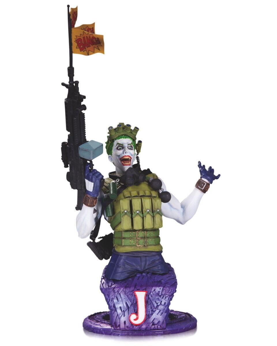 DC Comics Super Villains The Joker Bust - UK Seller