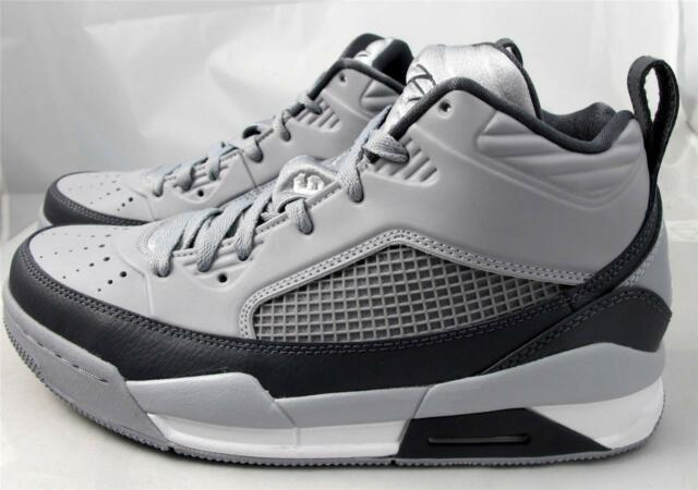 f08715957f7 Jordan Flight 9.5 654262-006 Wolf Dark Grey White Mens US Size 11 UK ...