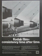 4/1980 PUB EASTMAN KODAK INDUSTREX PRODUCTS KODAK FILM AIRLINER ORIGINAL AD