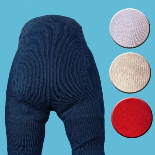 Knitted Tights NAVY  4-6 m Tights Unisex Cotton Tights Childrens Tights