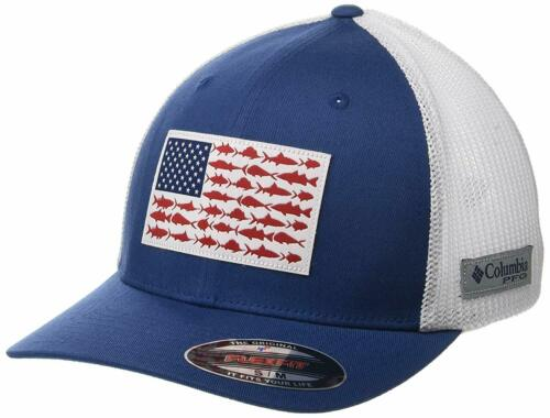 Columbia Unisex Fish Flag Ball Cap Breathable Adjustable