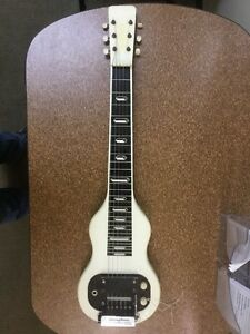vintage 1959 valco lap steel guitar with a stringtone note bender ebay. Black Bedroom Furniture Sets. Home Design Ideas
