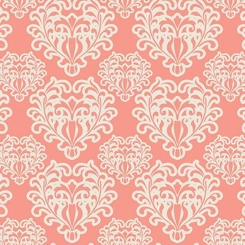 Art Gallery patchwork de tela de toalla essential ornamentos flor Apricot blanco