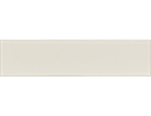 CLEARANCE 1 SQM Light Beige Glass Wall Tiles Kitchen//Bathroom 7.5x30cm