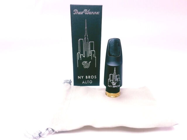 The Wanne NY BROS 5 FR Alto Saxophone Mouthpiece BRAND NEW
