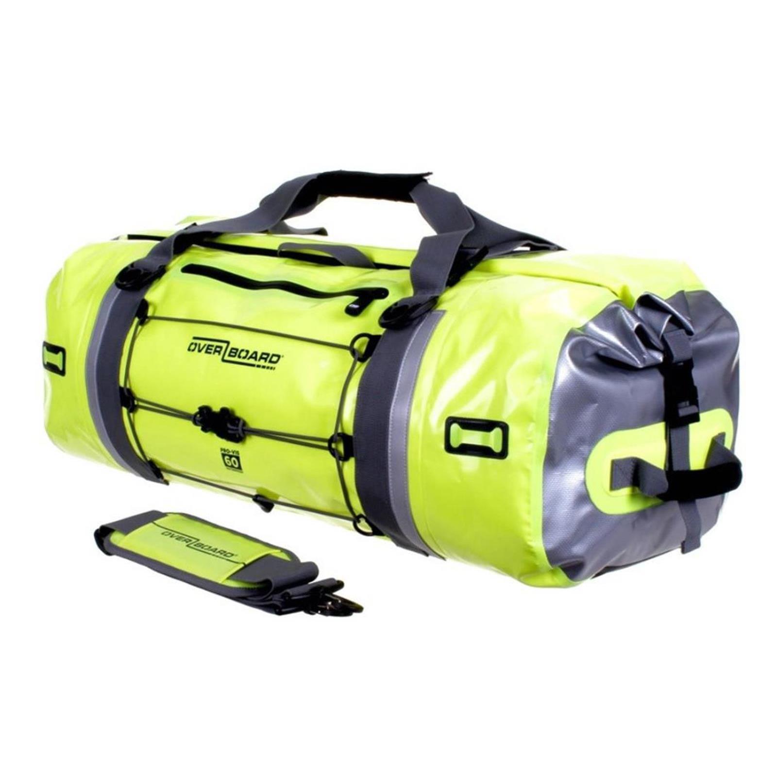 Overboard Impermeabile Duffle Bag ProVIS 60 L giallo, sacchetti, nuovo ridotto