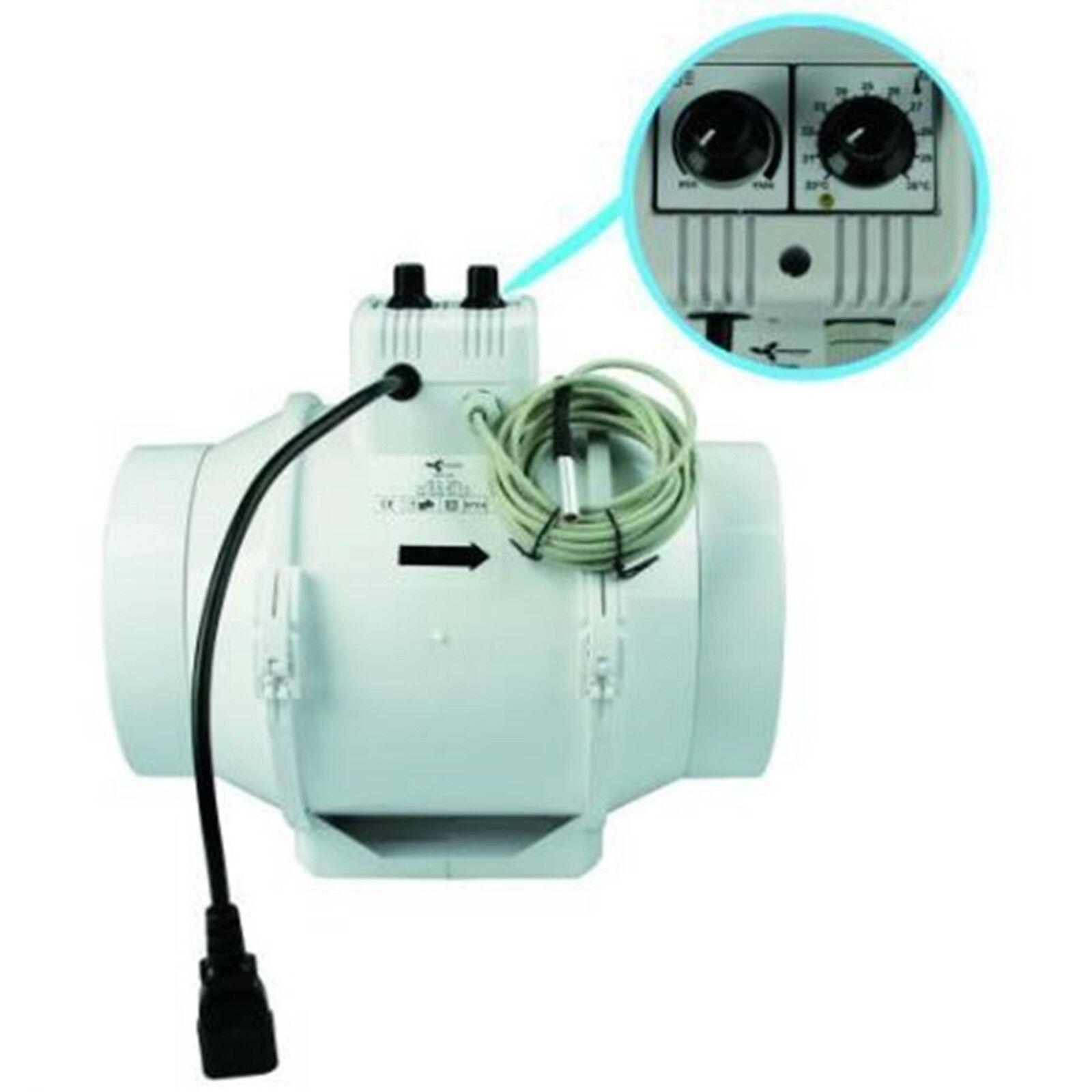 Mixed In-Line 150 mm 467   552 m³ Lüfter  Thermostat Rohrlüfter Rohrventilator       Verschiedene Arten und Stile    Verkauf Online-Shop    Wirtschaftlich und praktisch