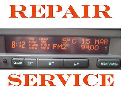 Saab 9-3 9-5 SID SID1 SID2 SID3 SIU Information Panel Display LCD with RIBBON
