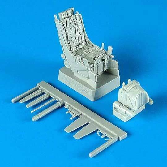 Quickboost Su-27 Ejections seat with safety belts Pilotensitze /& Gurte 1:48 kit