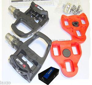 Exustar-E-PR100PP-Look-Keo-Road-Bicicleta-Pedals-Black-Bicycle-racing-new