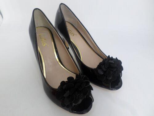 37 Solde Lotus 4 Toe 62 Enhance noir Eu bas cuir Ln18 Chaussures en ᄄᄂ talon Chaussures Canada verni Peep O80vmwNn