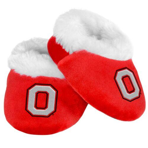 Ohio State Buckeyes Infant Newborn Baby Booties Slippers NEW Shower Gift NCAA