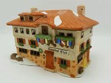 Department 56 Alpine Village Gasthof Eisel Guest House NEW in box Retired