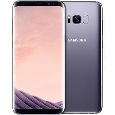 """Samsung Galaxy S8 Dual Sim G950FD 4G 64GB 5.8"""" Factory Unlocked Orchid Grey"""