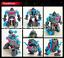 miniature 14 - Hasbro Transformers TITANS RETURN G1 IDW Windcharger Gnaw Action Figure No Box