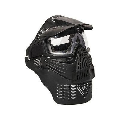 Aleko Tactical Army Military Anti Fog Paintball Mask Black Producir Un Efecto Hacia Una VisióN Clara
