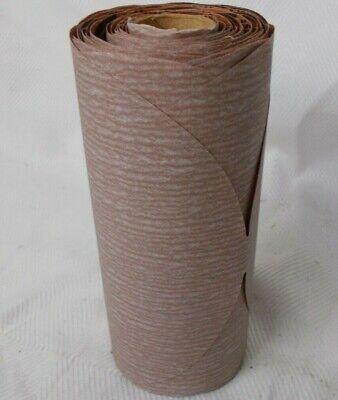 "Sandpaper PSA Disc Roll Norton 6 in P400 Grit /""1 Roll of 100 Discs/""  6/"""
