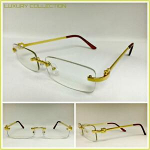 b2f25fa8a01 Image is loading Mens-Classy-Sophisticated-Luxury-Style-Clear-Lens-EYE-