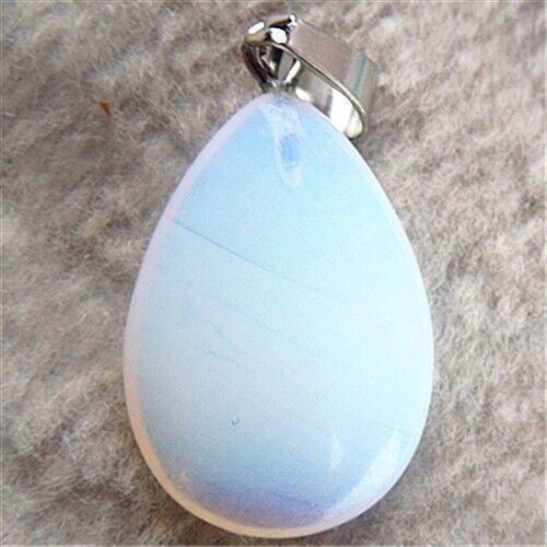 BB3032 27x16x6mm Beautiful teardrop Opal pendant bead