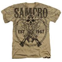 Sons Of Anarchy Soa Samcro Men Of Mayhem Est. 67 Heather T-shirt All Sizes
