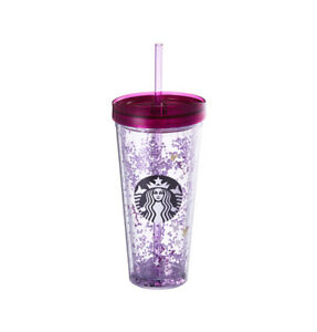 Starbucks Korea 2018 Spring Limited Spring Flower Glitter Cold Cup Tumbler 650ml
