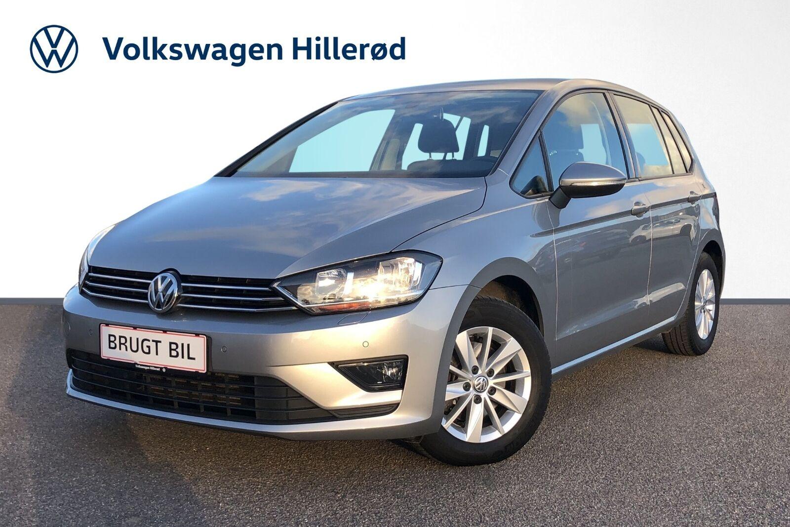 VW Golf Sportsvan 1,6 TDi 110 Comfortline DSG BMT 5d - 184.900 kr.